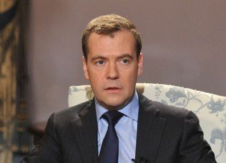 Dmitry Medvedev said Ukraine's interim authorities had conducted an armed mutiny
