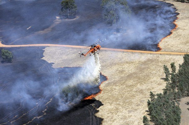 Dozens of bushfires are sweeping the Australian states of Victoria, South Australia and New South Wales, fanned by hot weather and strong winds