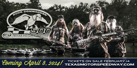 Duck Commander has signed a multiyear agreement to serve as title sponsor of the annual spring NASCAR Sprint Cup Series race at Texas Motor Speedway