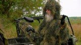 Duck Dynasty paintball game was cut short when Uncle Si Robertson got stuck in a marsh and needed to be rescued