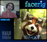 FaceRig is a program that lets you embody awesome characters by just using a webcam