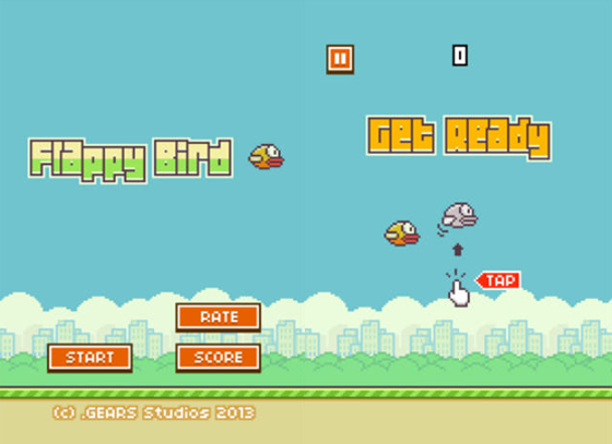 Flappy Bird has been downloaded more than 50 million times, making it this year's most popular mobile game so far