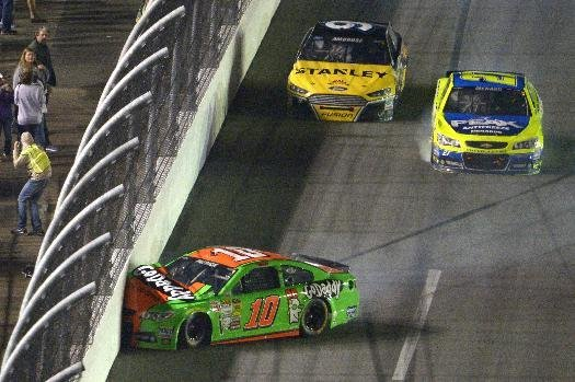 For the second time in her three Daytona 500s, Danica Patrick's day ended with a crash