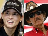 """Former NASCAR driver Richard """"The King"""" Petty said Danica Patrick will only win a NASCAR race if everyone else stays at home"""