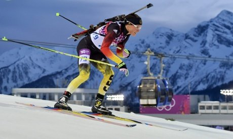 German cross country skier and biathlete Evi Sachenbacher-Stehle has been sent home from Sochi 2014 after failing drugs tests