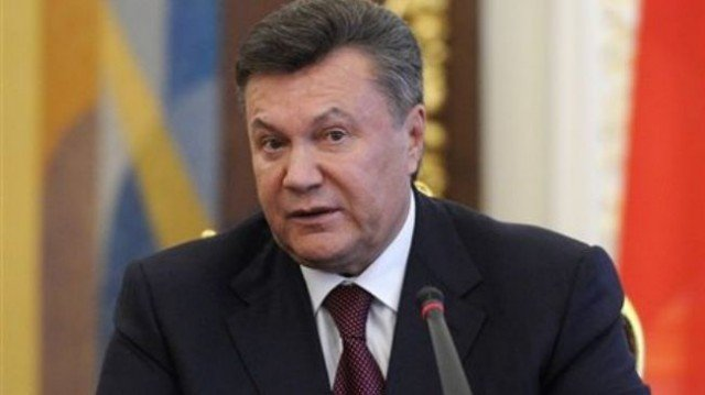 In an address televised before Ukraine's parliament vote to impeach him, Viktor Yanukovych described events in Kiev as a coup