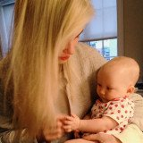 Ireland Baldwin spending time with her adorable half-sister, baby Carmen