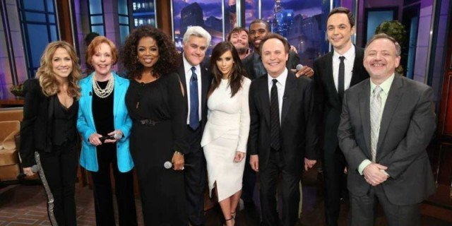 Jay Leno has taped his final episode of The Tonight Show, with help from a few celebrity guests