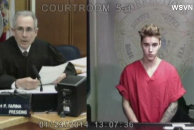 Justin Bieber was arrested in Miami Beach on charges of DUI