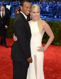 Lindsey Vonn opened up about attending the 2013 Met Gala last May with boyfriend Tiger Woods