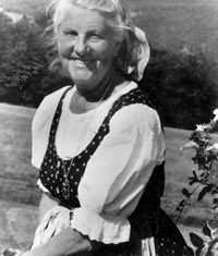 Maria Von Trapp and her family fled Nazi-occupied Austria in 1938 and ended up performing around the US