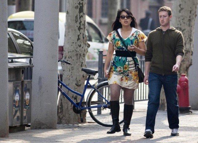 Mark Zuckerberg and Priscilla Chan have been named joint top US philanthropists for 2013