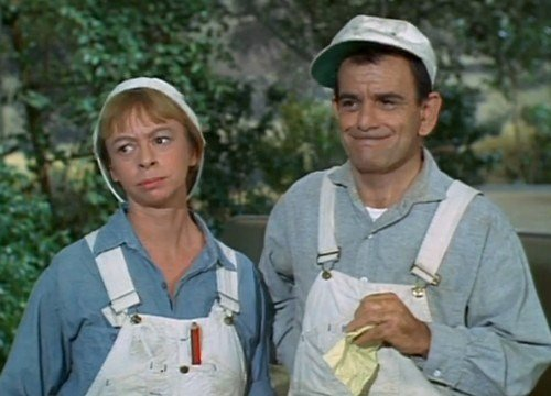 Mary Grace Canfield played handywoman Ralph Monroe on Green Acres TV show