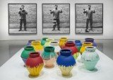 Maximo Caminero said he broke the vase inspired by Ai Weiwei's own art