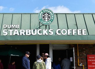 """Nathan Fielder has been revealed as the owner of parody coffee shop """"Dumb Starbucks"""" in Los Angeles"""