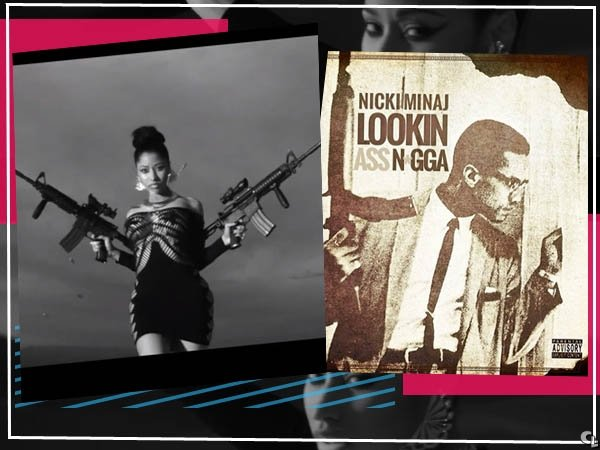 Nicki Minaj has apologized for using the famous picture of Malcolm X on her website, alongside a racial insult