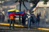 Nicolas Maduro has threatened to expel the CNN staff from Venezuela over its reporting of recent protests there