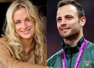 Oscar Pistorius said that he is consumed by grief on the first anniversary of the day that he fatally shot his girlfriend Reeva Steenkamp