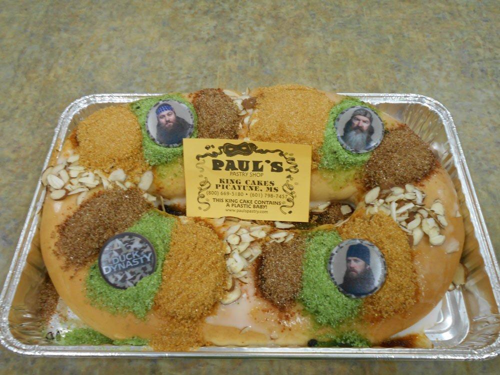 King Cake Pauls Pastry