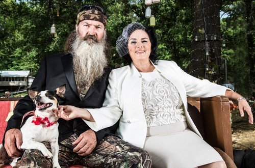 Phil Robertson and Miss Kay have a wonderful and loving marriage