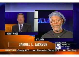 Samuel L. Jackson has admonished KTLA reporter Sam Rubin who mistook him for fellow movie star Laurence Fishburne