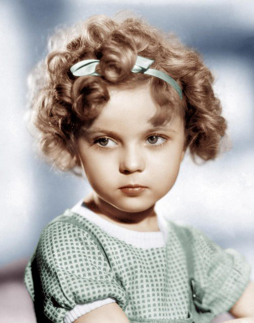 Shirley Temple found fame as a child star in the 1930s in films like Bright Eyes, Stand Up and Cheer and Curly Top