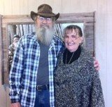 Si Robertson celebrated Valentine's Day with his lovely wife Christine and shared the moment with his fans on his Facebook account