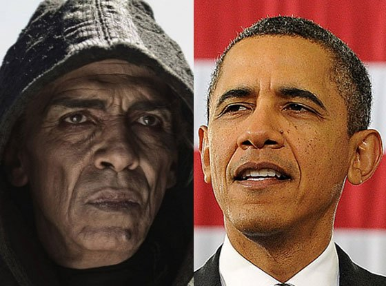 Son of God producers came under fire last year because Mohamen Mehdi Ouazanni, who stars as Satan in the film, bears a striking resemblance to President Barack Obama