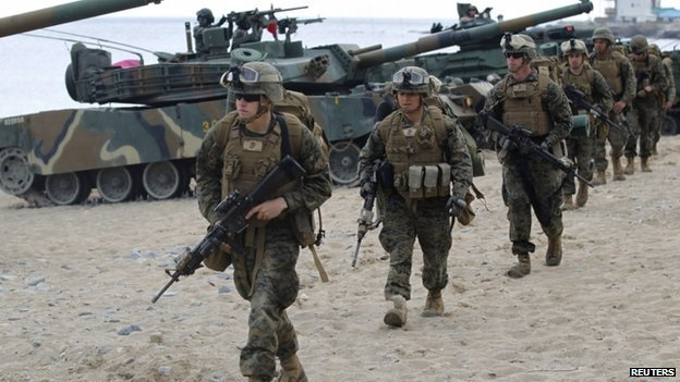 South Korea and US annual military exercises will last until April 18