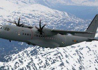 The Algerian plane crashed in a mountainous area in Oum al-Bouaghi province