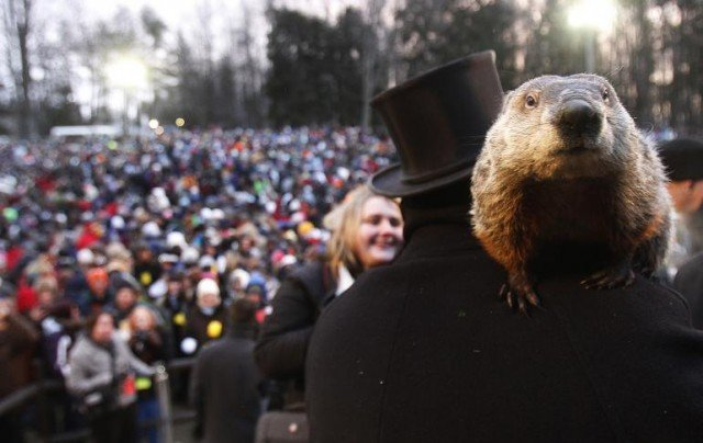 Thousands of people in Punxsutawney, Pennsylvania, have been celebrating Groundhog Day