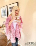 Tori Spelling shared photos on her ediTORIal blog of how she's been keeping busy crafting with her kids and partying with pals