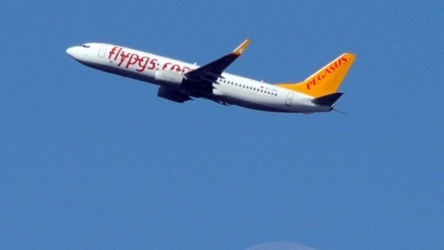 Turkey scrambled an F-16 fighter jet to accompany the Pegasus Airlines plane as it landed at Istanbul's Sabiha Gokcen airport after a flight from the Ukrainian city of Kharkov