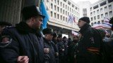Two Ukraine's government buildings have been seized by armed men in Simferopol