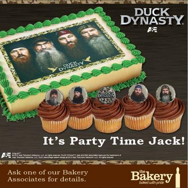 Duck Dynasty Birthday Cakes At Walmart