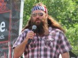 Willie Robertson went out to Ruth's Chris Steakhouse in D.C. with Sean Hannity, Mark Levin and Senator Ted Cruz