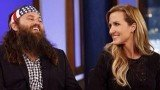Willie and Korie Robertson on Jimmy Kimmel Live