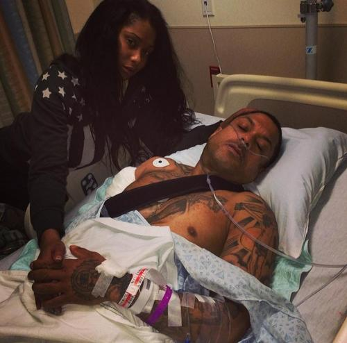Benzino has been shot in his shoulder and back during his mother's funeral