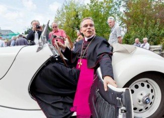 Bishop of Limburg Franz-Peter Tebartz-van Elst has been accused of spending more than 31 million euros on renovating his official residence