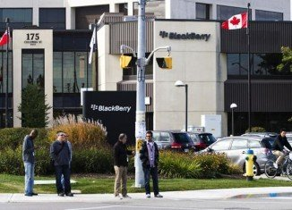 BlackBerry has reported a net loss of $5.9 billion for its latest financial year