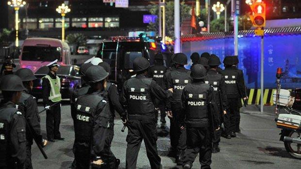 Chinese Uighur separatist Muslims accuse of mass knife attack at Kunming railway station