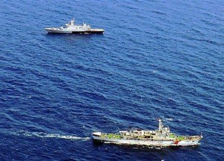 Chinese ships are scouring a new search area of the Indian Ocean in