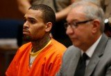 Chris Brown has been ordered to stay in jail until a hearing on April 23 following his rehab arrest