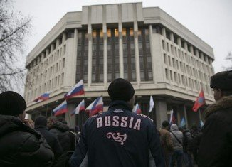 Crimea's parliament has voted to become part of the Russian Federation