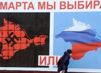 Crimea are voting on whether or not to re-join Russia