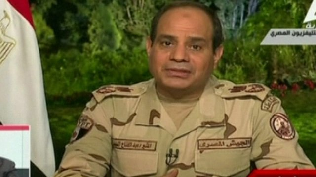 Egypt's military chief Abdul Fattah al-Sisi has resigned in order to stand for the presidency