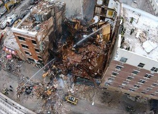 Firefighters are trying to find further victims, with the death toll expected to rise at the Harlem explosion site