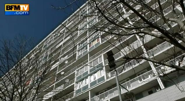 French social services found the children living in an apartment in a poor suburb of northern Paris