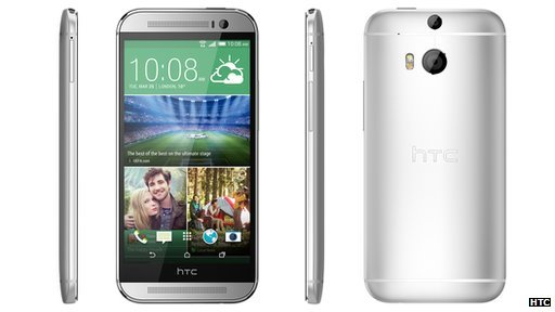 HTC One (M8) features a depth sensor to let owners change what appears in focus in photos after they are taken