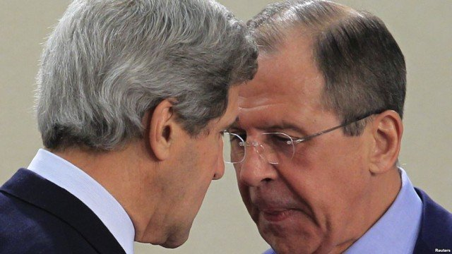 In a phone call with John Kerry, Sergei Lavrov said imposing sanctions on Moscow would harm the US